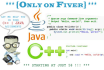 do your java and c sharp tasks and assignments
