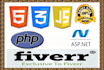 create php asp HTML css JavaScript website and fix problems