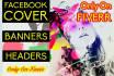 design your FACEBOOK timeline cover
