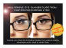 remove eye glasses glare from your photos
