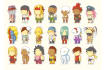 draw you or anyone in this cute chibi scribblenaut  style
