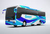 put your logo, photo or text on 3D Bus