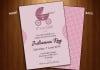 create a girl baby shower invitation