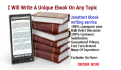 write eBook on any Niche