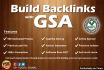 use GSA to Make Your Backlinks to Increase Rank