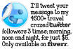 tweet a travel related message 3 times in one day