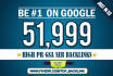 build 51999 GSA Ser backlinks for Google ranking