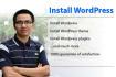 install WordPress, WordPress install