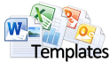 give you 700 Templates for MS Word Excel PowerPoint