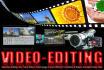 provide PROFESSIONAL video editing