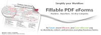 create a Fillable PDF form
