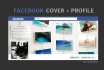 design your cover photo and profile picture