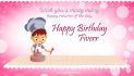create a birthday card for your loved one