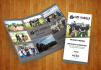 design a professional and clean Trifold brochure for you