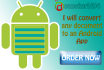 convert any document into an Android App