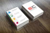 design Clean and Modern Business Card