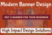 do professional BANNER Design