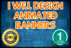 create 2 Animated BANNER