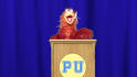 have Felix the Phoenix create a GRADUATION video