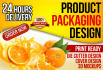 design an Attractive Product Packaging Cover