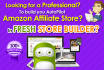 configure Fresh store builder for Amazon affiliate store
