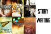 write any fictional story of any genre