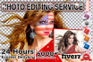 do any Photoshop editing in 24 hrs