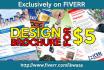 design Brochure or Leaflet