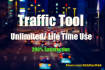 send Unlimited Traffic Tool for Lifetime Use