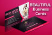 design AWESOME Business and Personal Cards