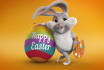 create cute easter day video with your logo