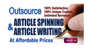 spin articles up to 500 words