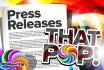 write a professional 100 word press release