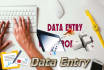 do data Entry work within 3 hrs