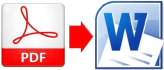 convert pdf to word,excel or jpeg and fillable pdf file