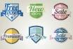 design a badge and vintage logo