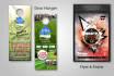 design a Door Hanger, Flyer and Poster for your company