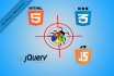 fix your html, css, jQuery, Bootstrap or responsive bugs