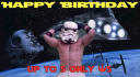 personalize this Star Wars dancing Storm Trooper
