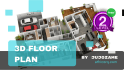 create a 3D floor plan of any Architecture project