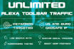 send ALEXA Toolbar Traffic during 30 days