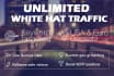 add Unlimited GOOGLE White Hat Search Traffic