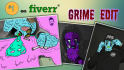make a tumblr acid zombie grime edit in Photoshop