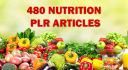 give you 480 PLR articles about Nutrition