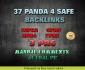 do 37 Panda Safe Backlinks 3PR6 7PR5 8PR4 9PR3 10PR2