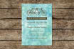 customize this rustic beachy wedding invite