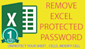 remove protected Excel Sheet password with OFFER