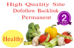 give you permanent doffolow blogroll 10 site Health DA 21