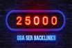 make 25000 GSA Ser backlinks for Google ranking