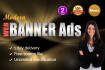 create MODERN Banner Ads